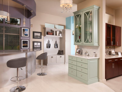 cabinet showroom located in University Place, WA