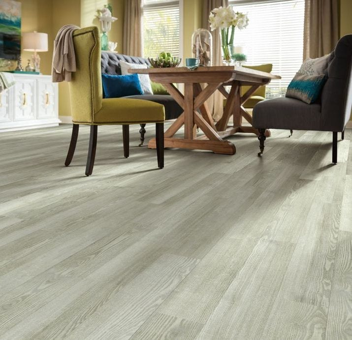 Floorte Pro luxury vinyl tile Three Rivers in Cotton Block for sale in TAcoma WA