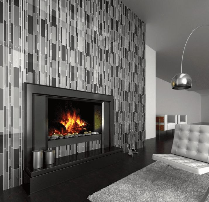 mosaic tile for fireplace surround in Tacoma WA